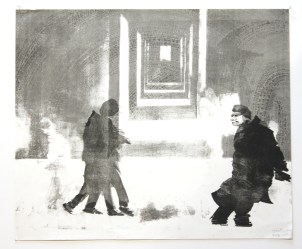 LE FOLL André Variation Lithographie 60x50 cm