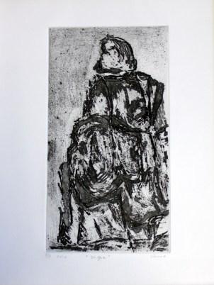 VERME-MIGNOT Olga, Vigie, 2012, eau forte, 39x28 cm