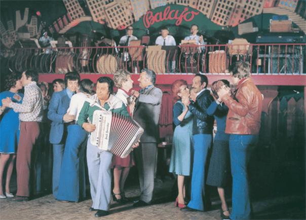 Jo Privat, le maitre de l'accordéon, couverture d'un disque de 1978.