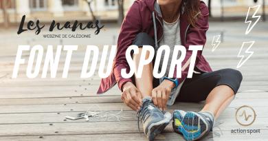 Les nanas font du sport avec Action Sport Nouméa