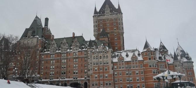 Québec ville en hiver