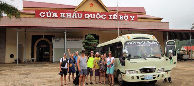 Laos – jour 7 – Entrée au Laos