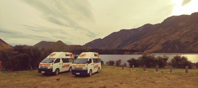 Nouvelle Zélande – île du Sud – les camping du DOC