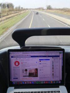 Digital Nomad - 3h de travail dans un bus irlandais grâce au Wi-Fi