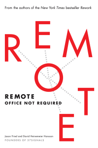 """Livre """"Remote : Office Not Required"""""""