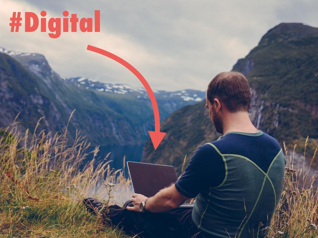 """Le """"digital nomad"""" est """"digital"""""""