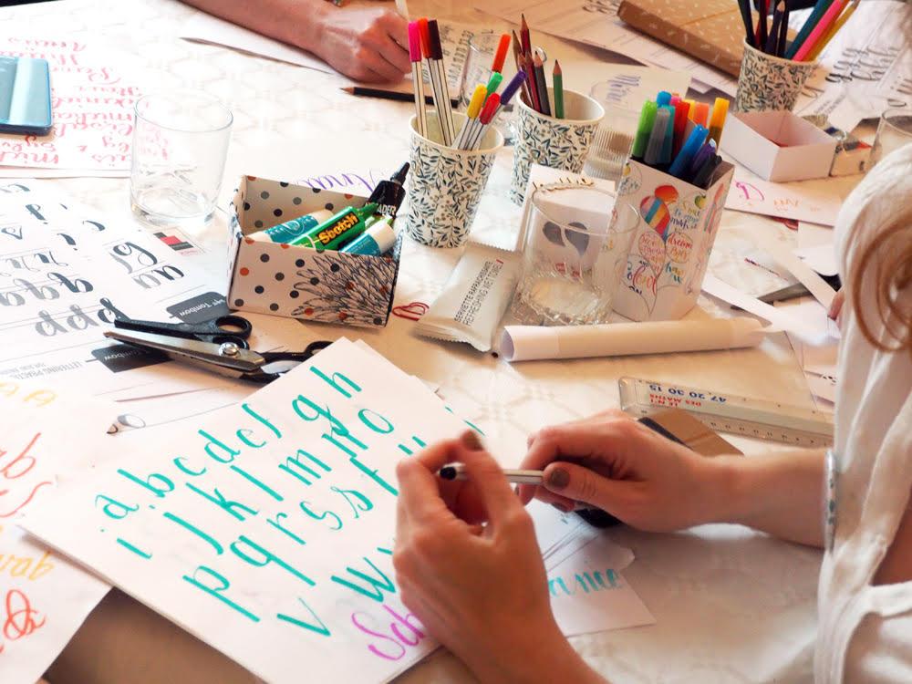 Slasheuse Y-Lan - Atelier de lettering