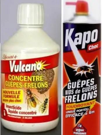produits pour détruire un nid de frelon asiatique