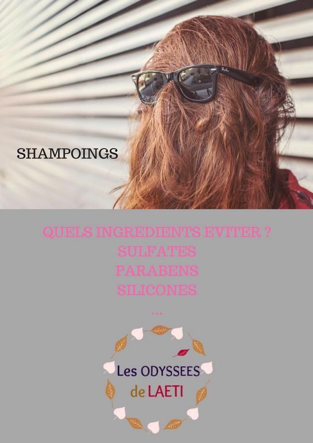 Liste des ingrédients à éviter dans les shampoings