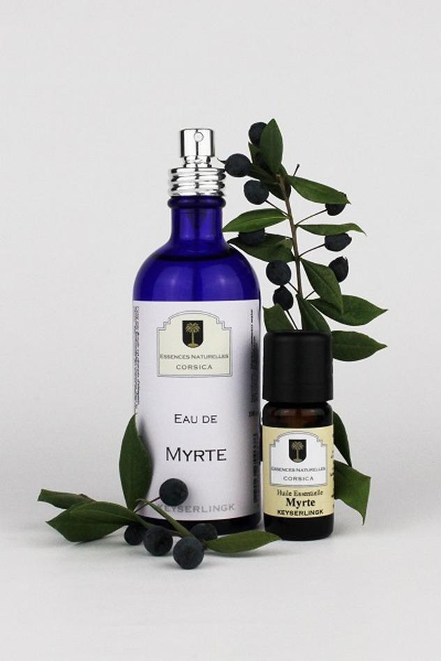 Produits de beauté Essences Naturelles Corses Myrte