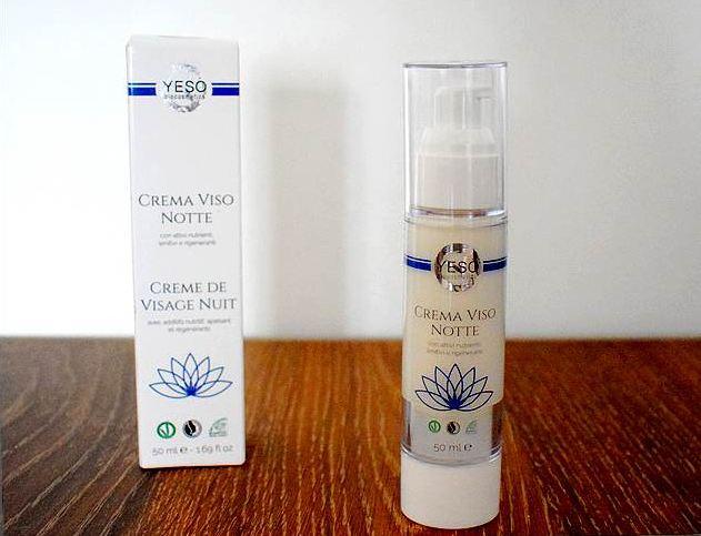 My Green Brands : eshop de cosmétiques bio de niche - Crème visage de nuit Yeso Cosmetics