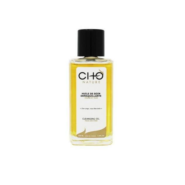 Tag mes favoris beauté 100% naturels : huile de soin démaquillante Cho Nature