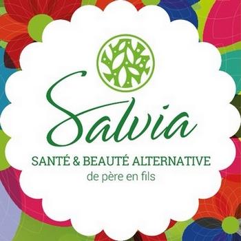 Logo Salvia Nutrition, Santé et Beauté alternative : cosmétiques bio naturels et vegan
