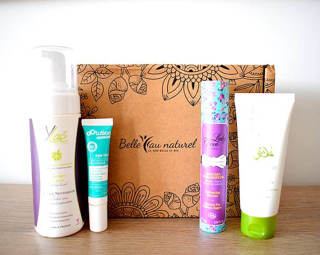 box beaute belle au naturel mai 2018 - Box beauté Belle au Naturel Mai 2018