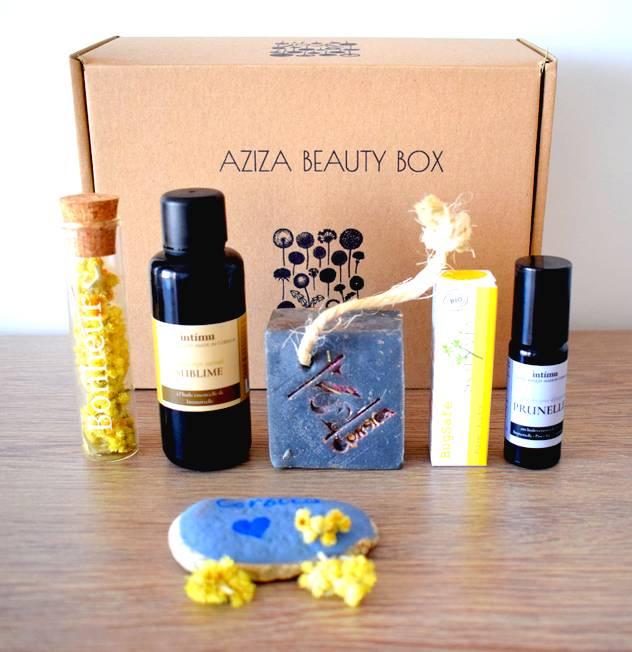 Aziza Beauty Box : beauté vegan