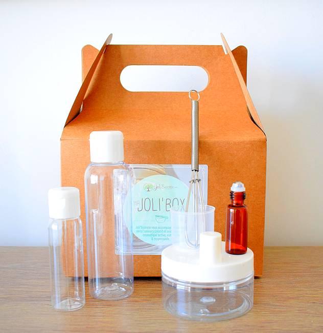 Joli'Box : le kit pour faire ses cosmétiques maison
