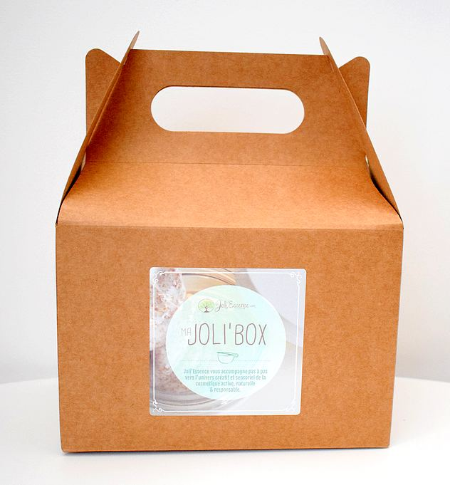 Joli'Box : la box DIY pour débuter dans la cosmétique maison