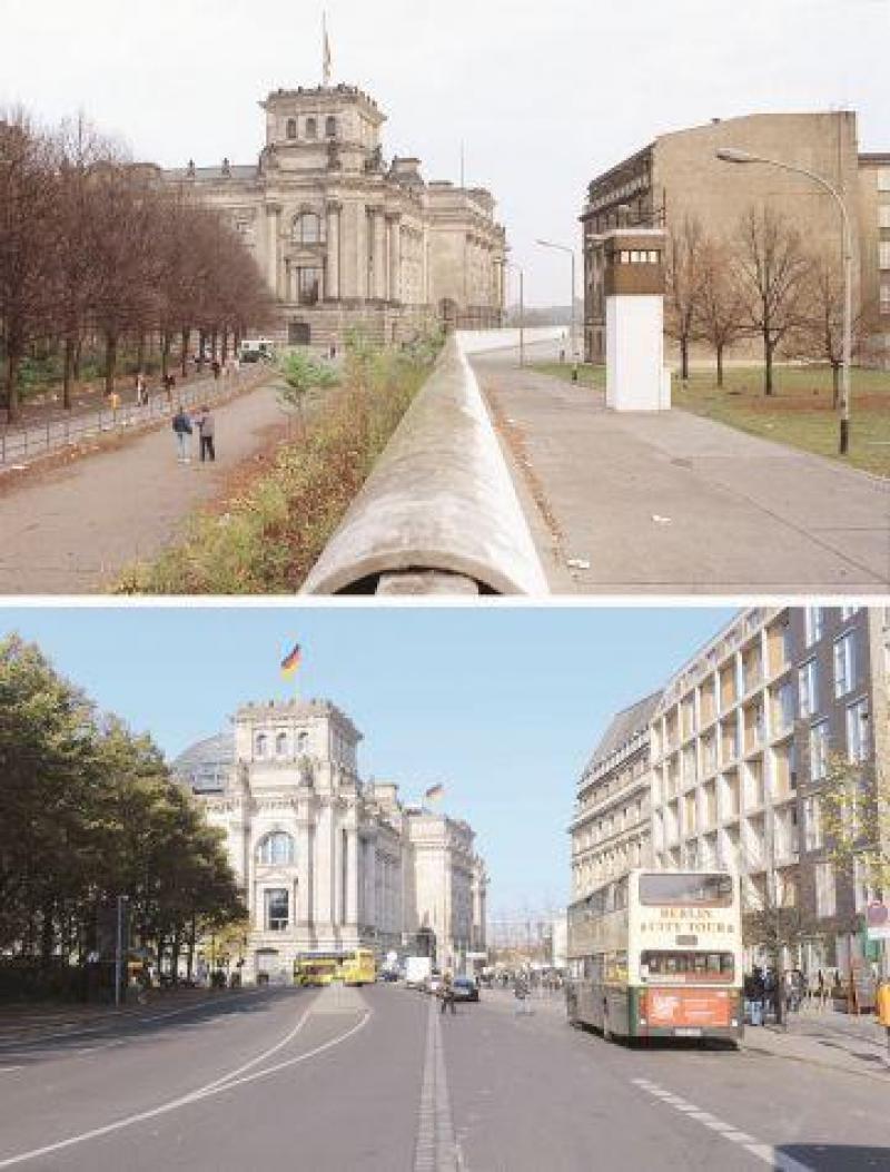 Mur De Berlin Aujourd Hui : berlin, aujourd, Choses, Savoir, Berlin