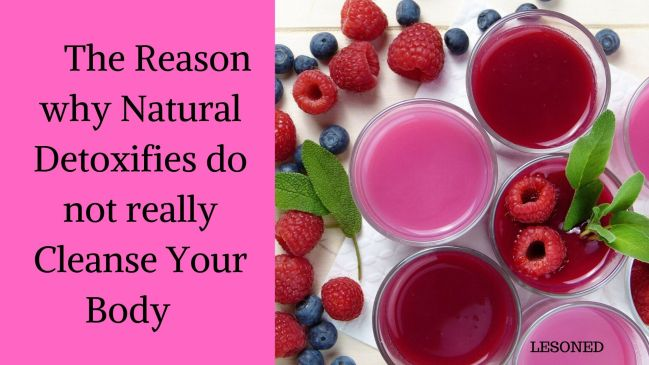 The Reason Why Natural Detoxifies do Not really Cleanse Your Body
