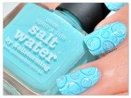"Stamping Master ""Bulles"" - Picture Polish Salt Water - Bundle Monster"