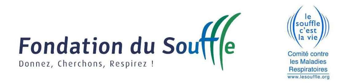 Logos de la Fondation du Souffle et du CNMR