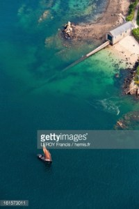 Ile de Bréhat, débarcadère canot de sauvetage SNSM