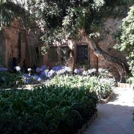 Jardin du palais à Valdemossa