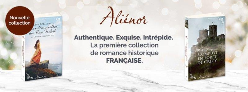 Aliénor Harlequin romance historique française