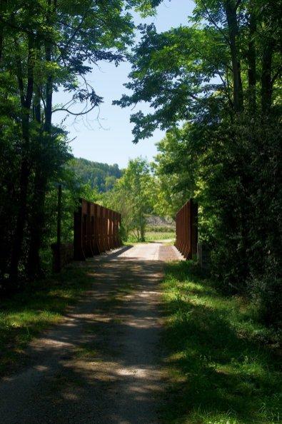 Un joli pont sur la voie verte