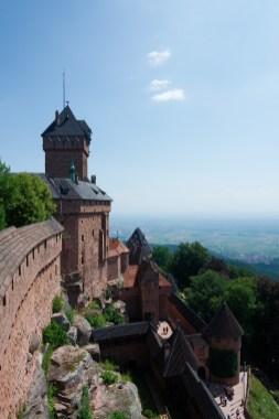 Le château du Haut-Koenigsburg