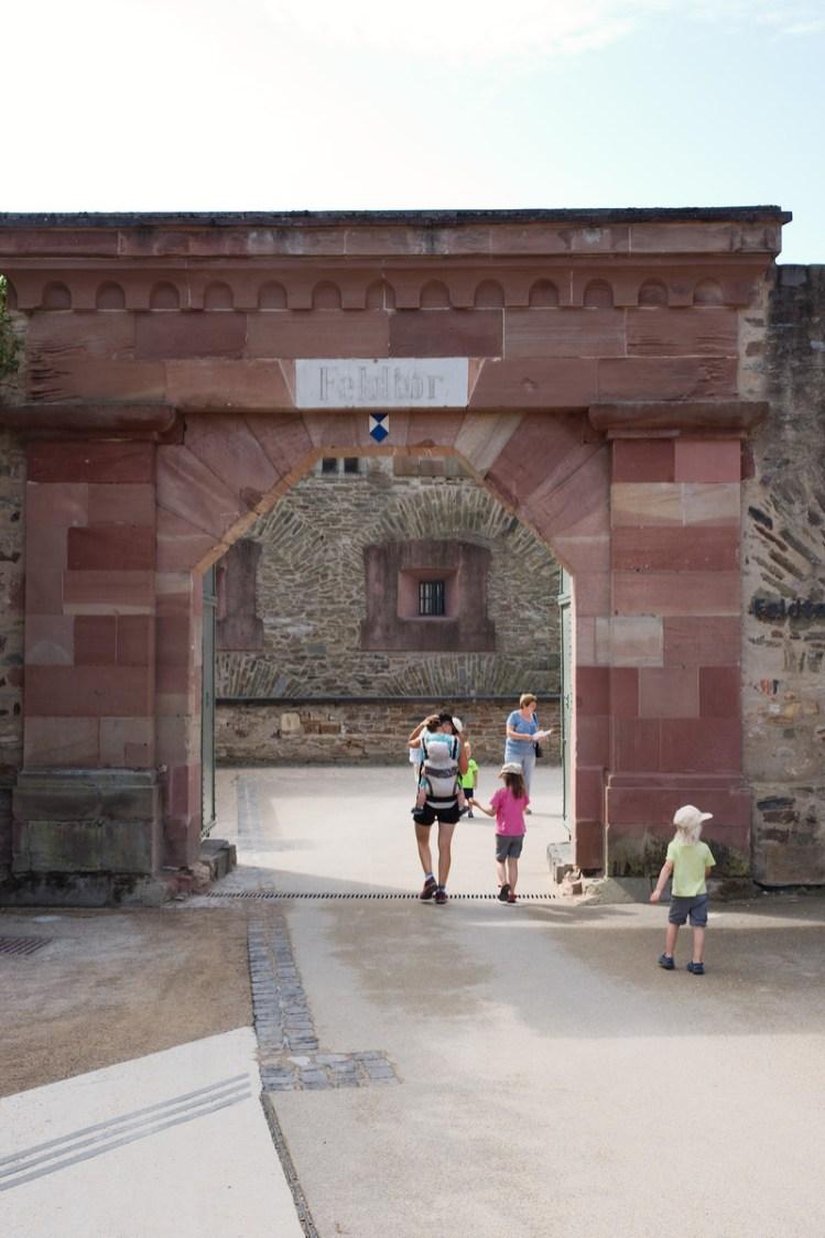 Dans la forteresse de Coblence