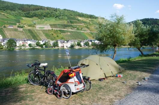 Camping en bord de Moselle