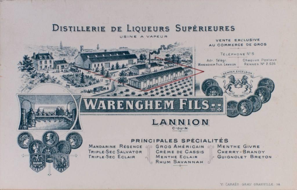 PDT-2018-Distillerie Warenghem-Photo Ancienne-Les Papotis de Thalie