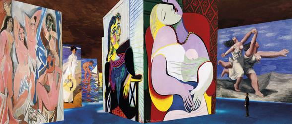 PDT-2018-Les Carrieres de Lumieres-Picasso et les maitres espagnols