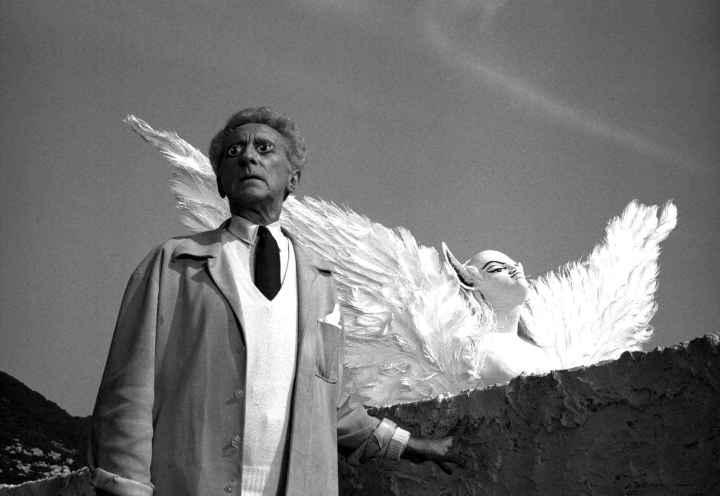 PDT-2018-Les Carrières de Lumières-Jean Cocteau-Le poëte et le sphynx-Les Papotis de Thalie