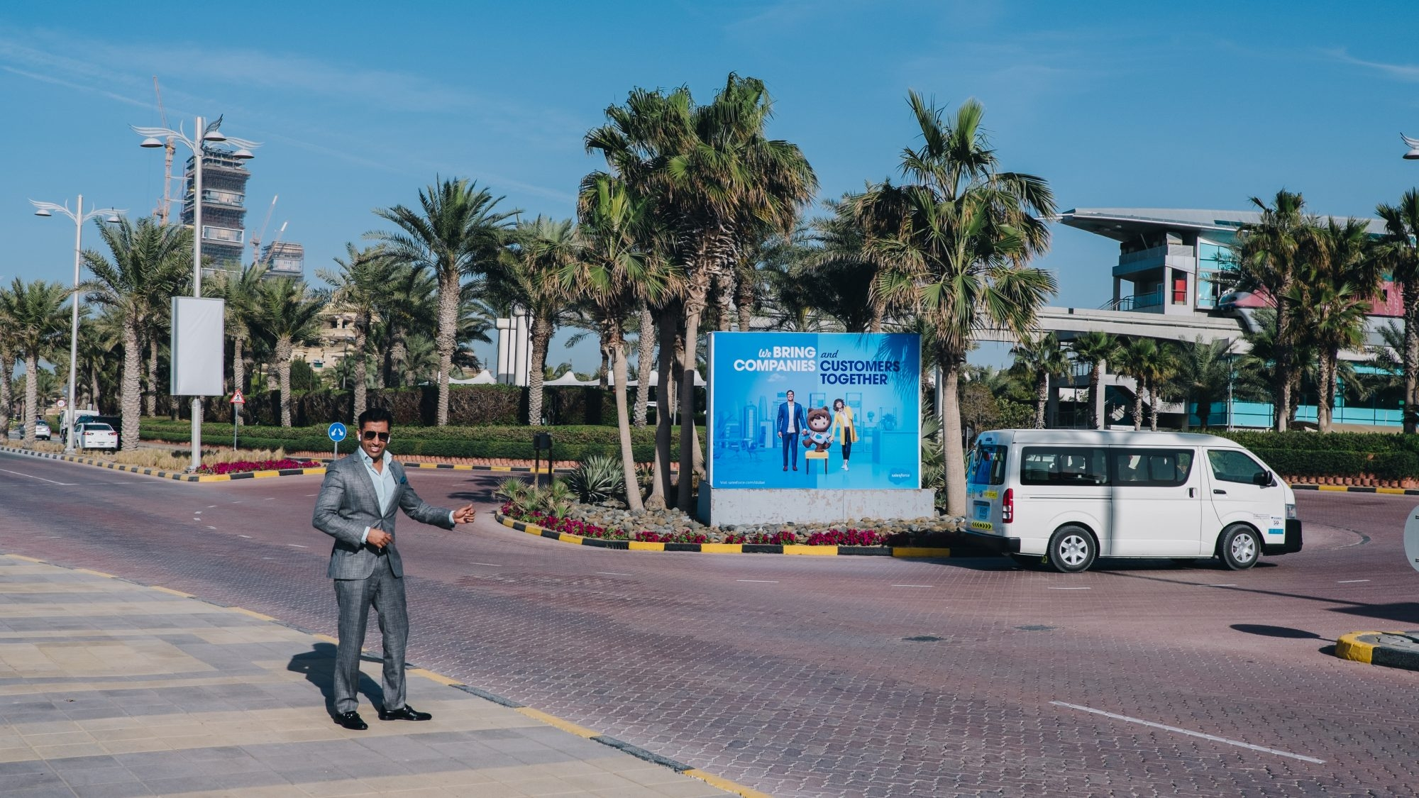 Salesforce me suit - Palm Jumeirah Dubaï