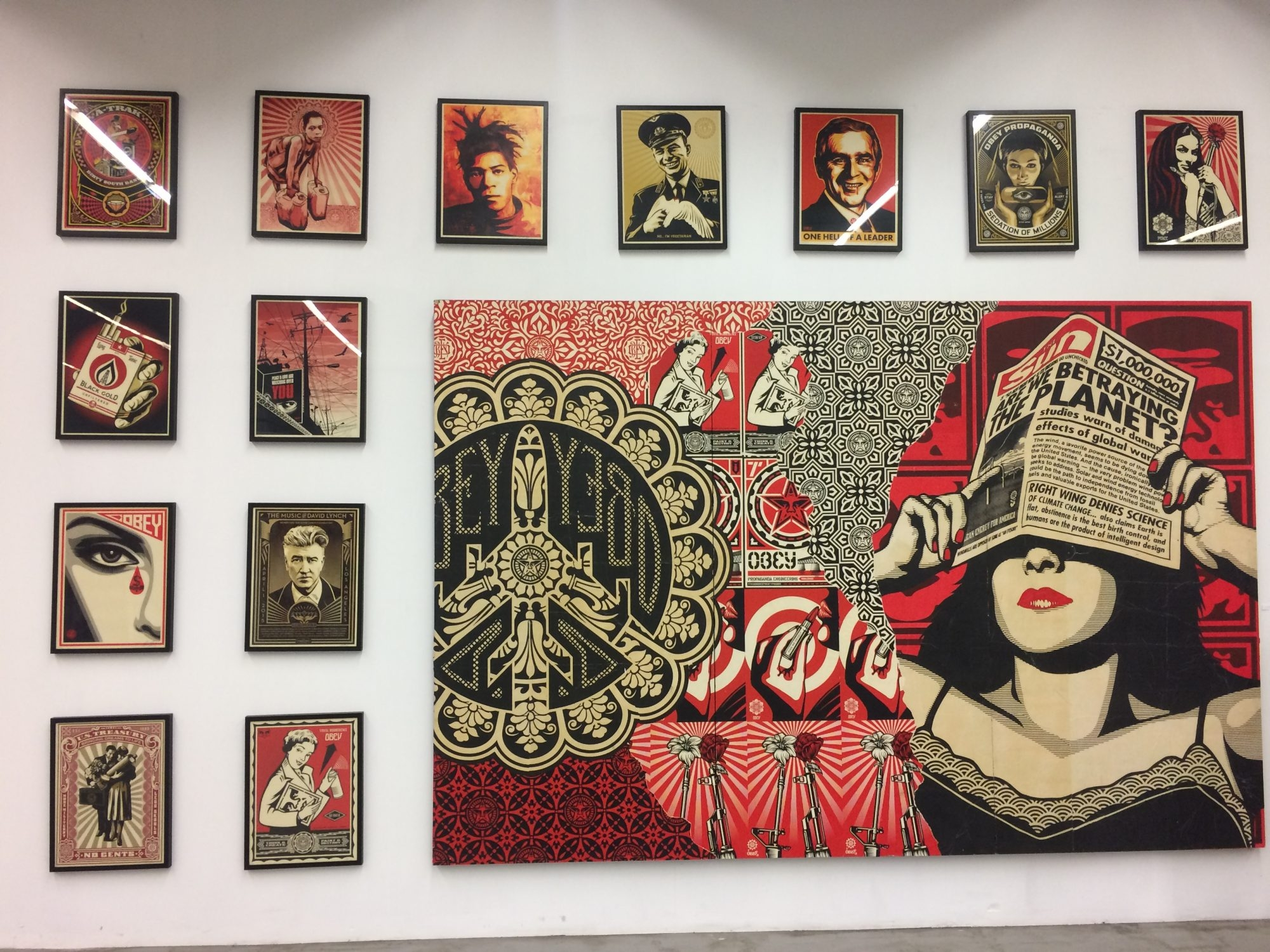 Exposition Obey - Paris