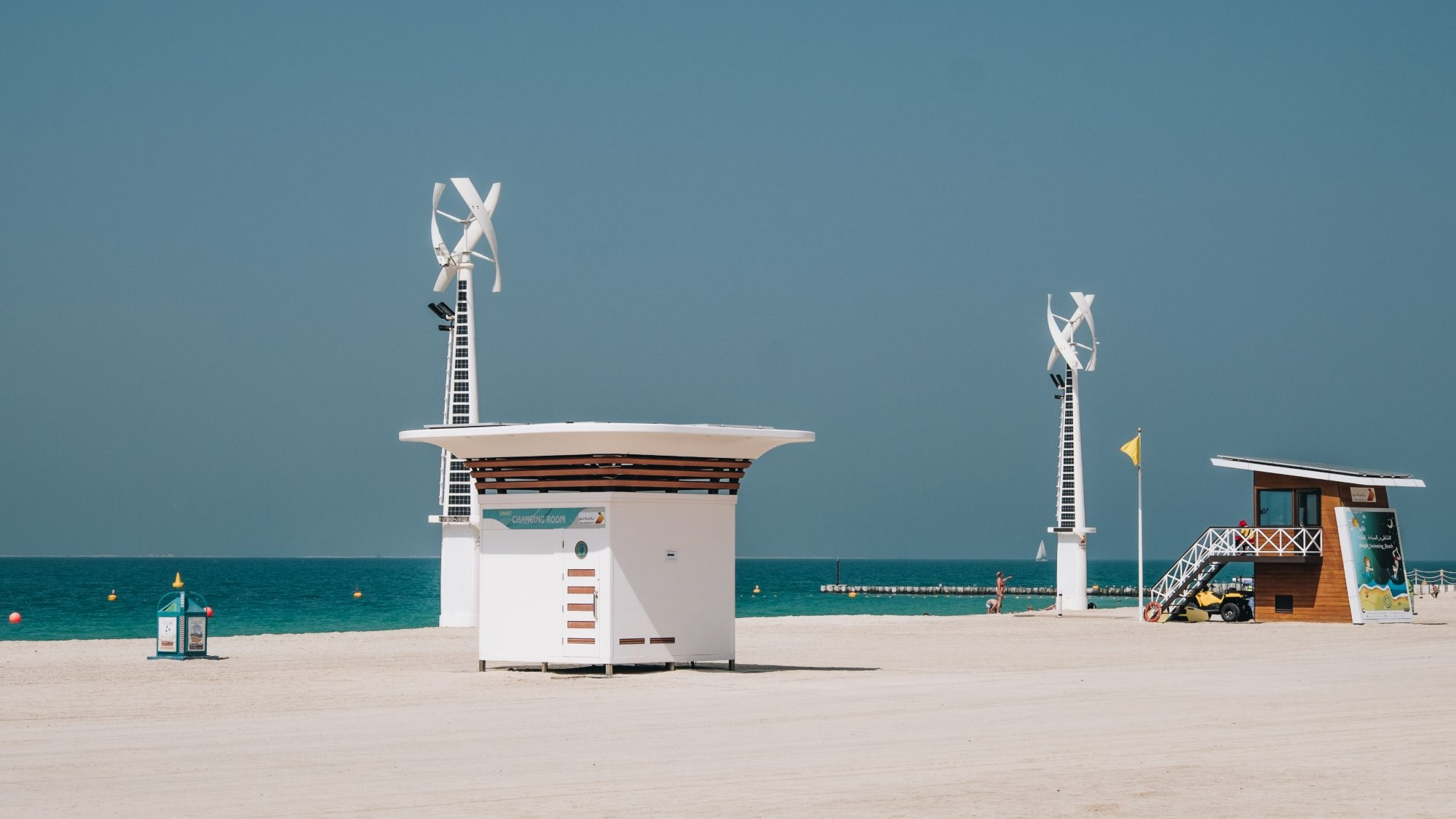 Design sur la plage - Kite Beach Dubaï