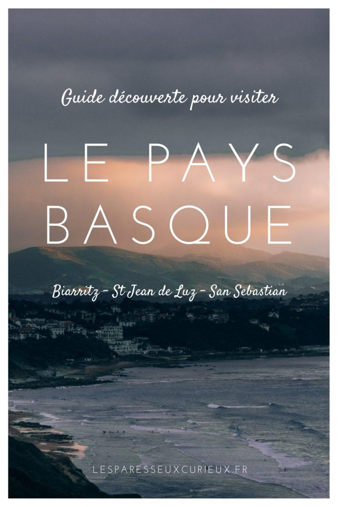 Pinterest Pin Le Pays Basque
