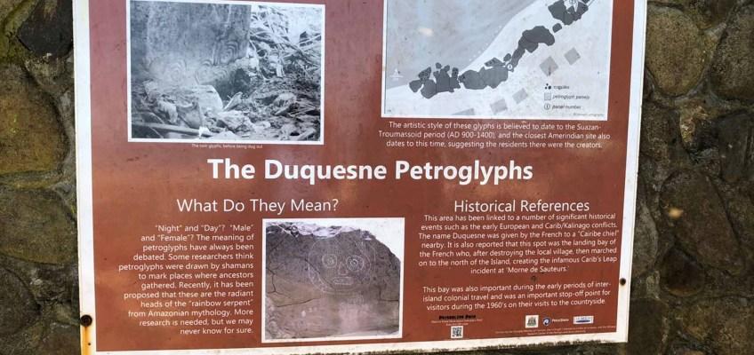 Duquesne pétroglyphs