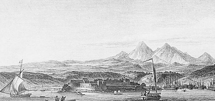 Port Royal devenu Fort-de-France