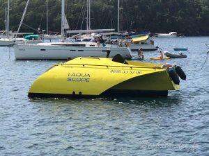 L'Aqua Scope pour voir les fonds marins
