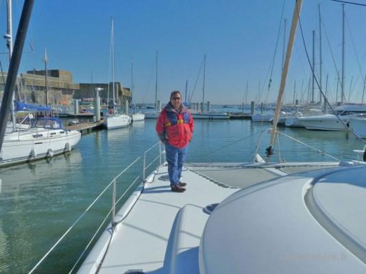 Equipage Patandre sur Iroise à Lorient-base sous-marine