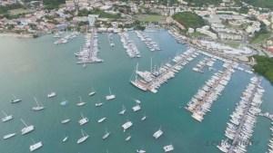 Marina du Marin vue aérienne
