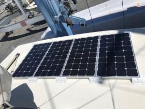 Panneaux solaires 4x100Watts
