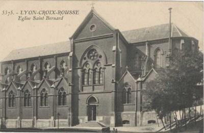 Eglise Saint-Bernard avant