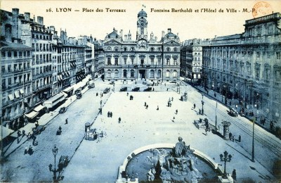 Fontaine Bartholdi vue du haut