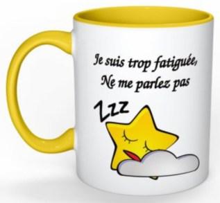 Le mug pour celles qui ne sont pas du matin