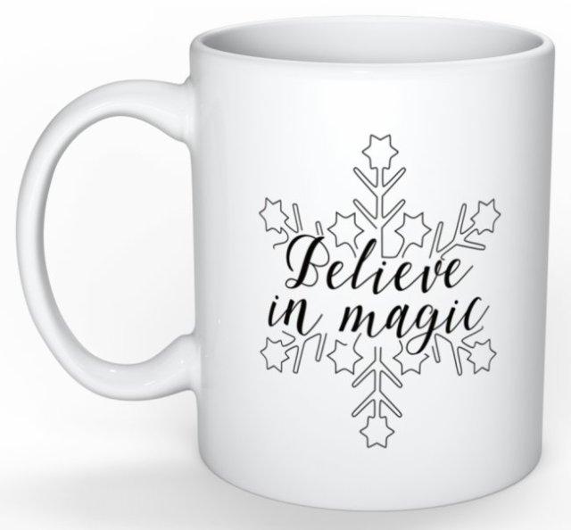 Mug Believe in magic