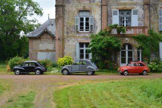 Au chateau de la Giraudière